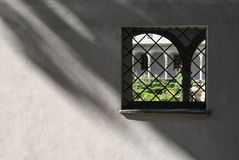 Old italian cloister Stock Images