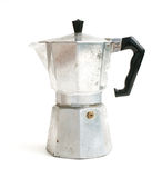 Old italian coffe maker Royalty Free Stock Photos