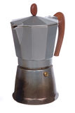Old  italian coffee maker Royalty Free Stock Photography