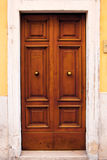 Old Italian door. Stock Photos