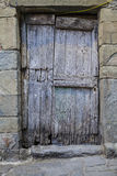 Old italian door Royalty Free Stock Image