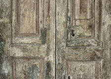 Old Italian door Stock Photography
