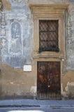 Old Italian doorway Stock Photos
