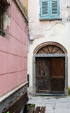 Old Italian Doorway Stock Photo
