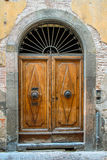 Old Italian Doorway Stock Photography