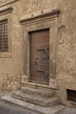 Old Italian doorway Royalty Free Stock Photography