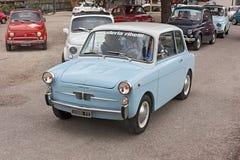 Old italian economy car Royalty Free Stock Images