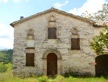 Old Italian farmhouse Royalty Free Stock Photos