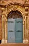 Old italian front door Stock Photo
