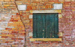 Old Italian house in Venice Royalty Free Stock Photos