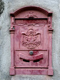 Old Italian Mailbox. Used during the late kingdom Stock Photo