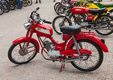 Old italian moped Stock Images