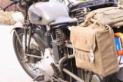 Old italian motorcycle Stock Photos