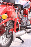 Old italian motorcycle Stock Images