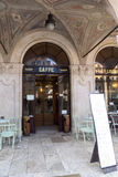 Old Italian pastry shop and coffee bar Royalty Free Stock Photography