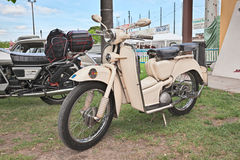 Old italian scooter Aermacchi Zeffiro 150 (1956) Royalty Free Stock Photos