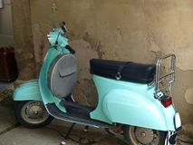 Old Italian scooters Stock Image