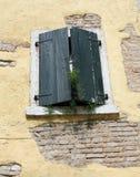Old Italian Shutter. In Bardolino Lake Garda Italy royalty free stock image