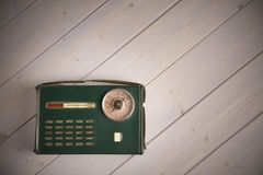 Old italian style vintage radio Stock Photography