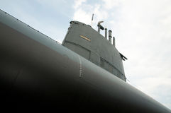 Old italian submarine Royalty Free Stock Images