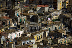 Old Italian town of Scicli Stock Photos