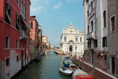The old Italian town of Venice Royalty Free Stock Photos