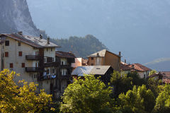 Old italian village Stock Photography