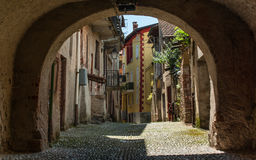 Old italian village Stock Image