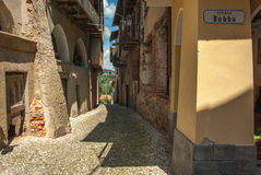 Old italian village Stock Images