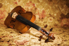 Old italian violin Royalty Free Stock Photos