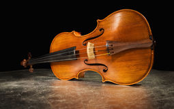 Old italian violin Stock Image