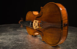 Old Italian Violin Stock Images