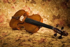 Old italian violin Royalty Free Stock Photo