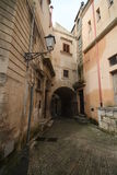 Old Italy, Modica. Royalty Free Stock Images