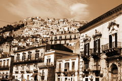 Old Italy, Modica city,Sicily Stock Image