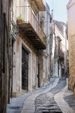 Old Italy, Modica. Stock Images