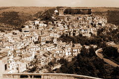 Old Italy, Ragusa city, Sicily Stock Image