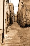 Old Italy ,Sicily,  Enna city Royalty Free Stock Photography