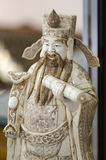 Old ivory statuette Stock Photography