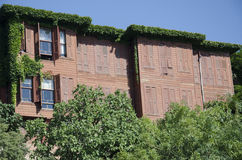 Old ivy clad house. In Istanbul Uskudar Royalty Free Stock Images