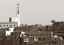 Old Jaffa. In style of a retro Royalty Free Stock Image