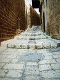 Old Jaffa. Stairs Stock Images
