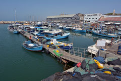 Old Jaffa city port in Tel Aviv Jaffa - Israel Stock Image