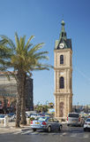 Old jaffa clocktower in tel aviv israel Stock Images