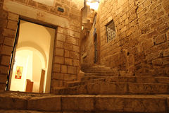 Old Jaffa at Night Stock Photography