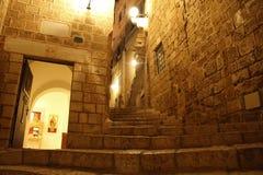 Old Jaffa at Night Royalty Free Stock Photos