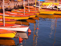 Old Jaffa port - boating station. Royalty Free Stock Images