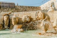 Old jaffa zodiac fountain on kedumim square Stock Photography