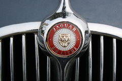 An old jaguar car symbol Stock Image