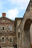 Former Waterloo County Jail in Kitchener, Ontario royalty free stock images